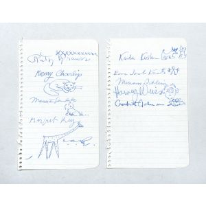 10 signatures by 10 US children's authors and illustrators.