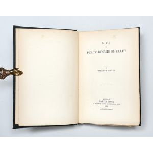 Life of Percy Bysshe Shelley.