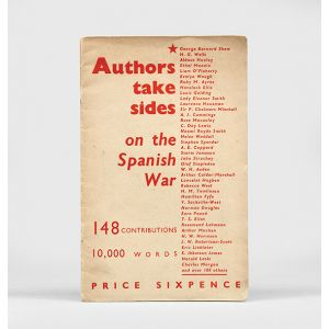 Authors Take Sides on the Spanish War.