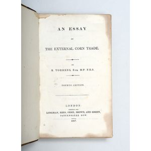 An Essay on the external Corn Trade. Fourth edition.