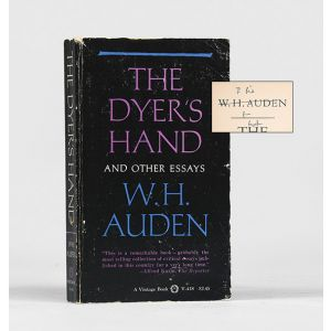The Dyer's Hand and Other Essays.