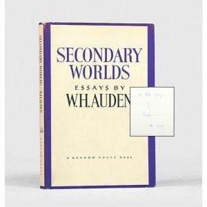 Secondary Worlds: Essays.