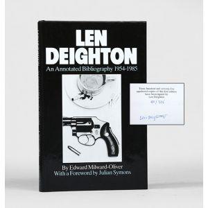 Len Deighton: An Annotated Bibliography, 1954-1985.