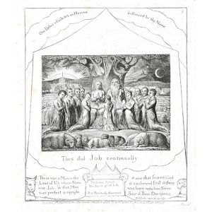 Illustrations of The Book of Job.