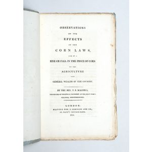 Observations on the Effects of the Corn Laws,