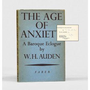 The Age of Anxiety: A Baroque Eclogue.