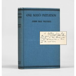 One Man's Initiation - 1917.