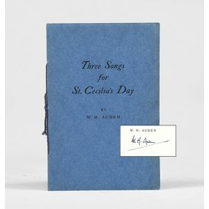 Three Songs for St. Cecilia's Day.