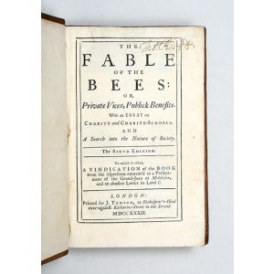 The Fable of the Bees; [together with:] The Fable of the Bees Part II.
