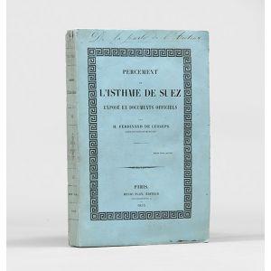Percement de l'Isthme de Suez.