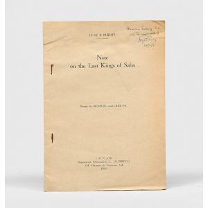 Notes on the Last Kings of Saba.