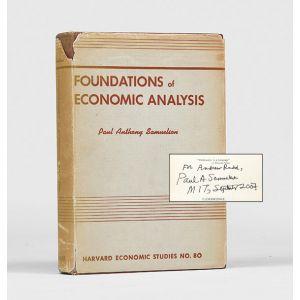 Foundations of Economic Analysis.