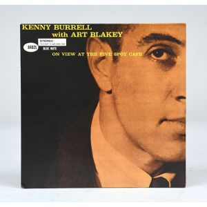 Kenny Burrell with Art Blakey - On View at the Five Spot Cafe.