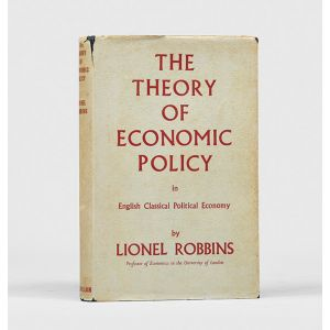 The Theory of Economic Policy In English Classical Political Economy.
