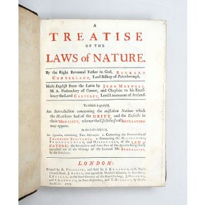 A Treatise on the Laws of Nature.