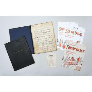 Collection of manuscript band parts for some of her most famous songs.