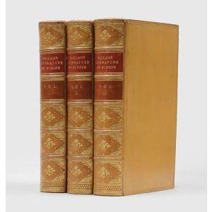 Hallam's Literature of Europe.