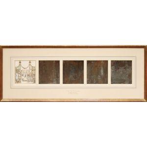 Original copperplates for In Powder and Crinoline;
