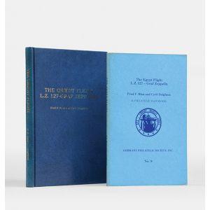 The Orient Flight LZ 127-Graf Zeppelin. A Philatelic Handbook. [and] The Egypt Flight …