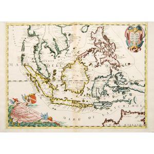 ISOLE DELL' INDIE divise in FILIPPINE, MOLUCCHE e della SONDA.