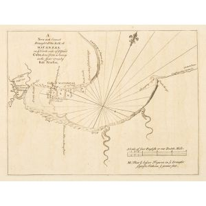 A New and Correct Draught of the Bay of Matanzas on ye North Side of ye Island Cuba, done from a survey in the year 1729 by Robt. Pearfon.