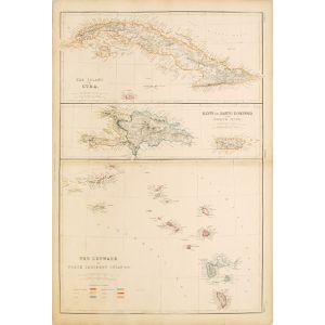 THE ISLAND OF CUBA.  HAYTI OR SANTO DOMINGO AND PORTO RICO.  THE LEEWARD OR NORTH CARIBBEE ISLANDS.