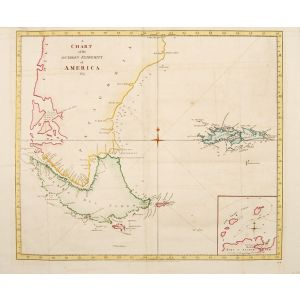 A Chart of the Southern Extremity of America, 1775.