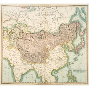A NEW MAP OF CHINESE AND INDEPENDENT TARTARY FROM THE LATEST AUTHORITIES.