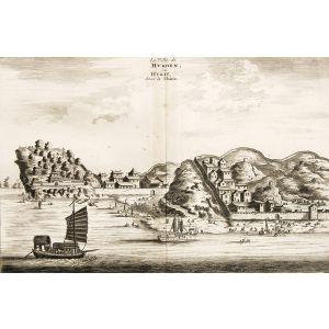 Nieuhoff's China - La Ville de Hukoen ou Hukeu, dans la Chine.