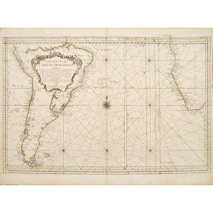 Carte Réduite de L'Ocean Meridional.