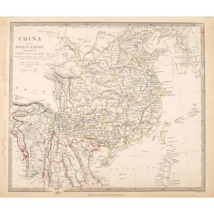 China and the Birman Empire with parts of Cochin-China and Siam.