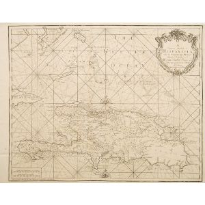 A Correct Chart of Hispaniola with the Windward Passage,
