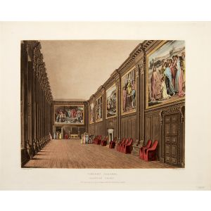 Cartoon Gallery, Hampton Court.