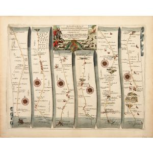 Plate 85: The Road from SALISBURY com. Wilts. to CAMPDEN com. Gloc.