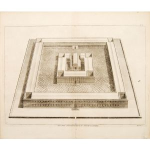 The View and Elevation of Solomons Temple.
