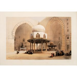 Mosque of Sultan Hassan, Cairo.