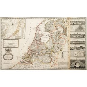 A New and Exact Map of The United Provinces or Netherlands &c.