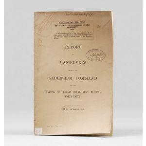 Report on Manoeuvres held in the Aldershot Command