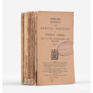 Handbook of the Medical Services of Foreign Armies. Parts I-VI.