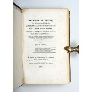 Collection of six scarce works on navigation, hydrography, meteorology, and astronomy published at Nantes.
