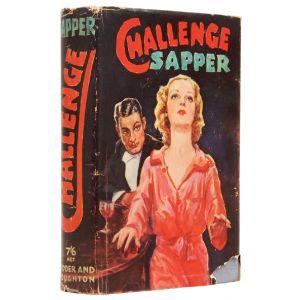 Challenge. A Bulldog Drummond Novel.