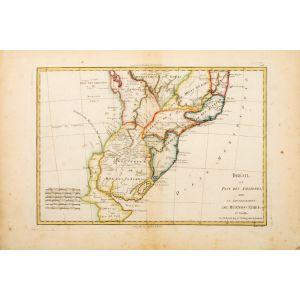 Brésil et Pays des Amazones, avec le Gouvernment de Buenos-Ayres.
