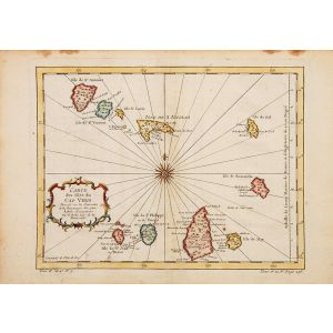Carte des Isles du Cap Verd.