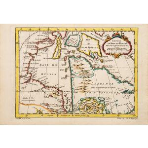 Carte de la Baye de Hudson.
