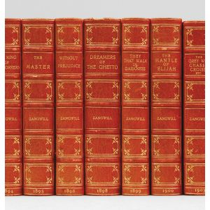 [Set of 16 first editions comprising:] Children of the Ghetto;