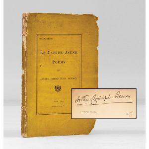Le Cahier Jaune. Poems.