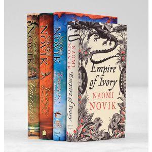 Temeraire; The Throne of Jade; Black Powder War; Empire of Ivory.