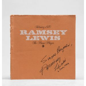 February 1970, Ramsey Lewis. The Piano Player.