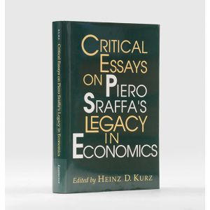 Critical Essays on Piero Sraffa's Legacy in Economics.