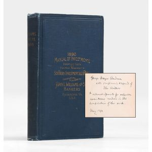 1889-90. A Manual of Investments.